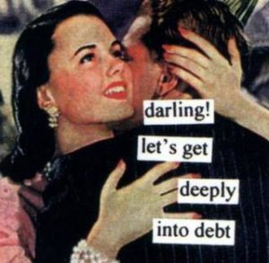 marry - debt