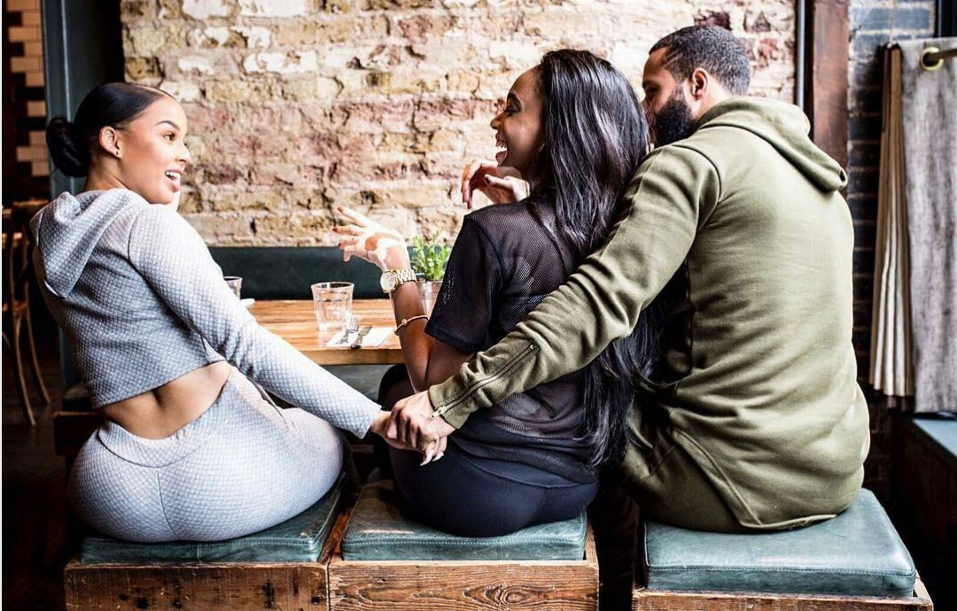 Image result for black man with side chick